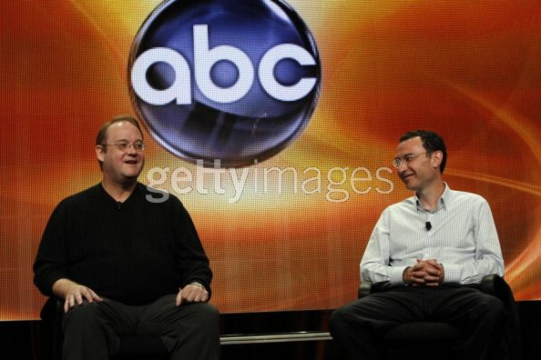 ABC president Paul Lee and Marc Cherry at TCA 2011 Summer Press Tour