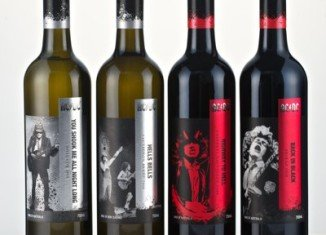 AC/DC rock band signed with liquor company Warburn Estate to lend their names and the titles of some of their biggest hits to a line of fine wines