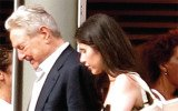 Adriana Ferreyr talked about her terror during a row over property with the 81 year old financier