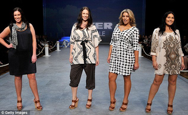 Australian department store Myer hosted Big is Beautiful fashion launch during Sydney s Fashion Festival 2011 photo