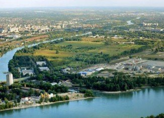 Csepel Island Budapest where a Romanian was buried alived last week.