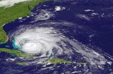 Hurricane Irene hit Atlantic Beach, Cape Fear and the Outer Banks of North Carolina with Category 1 winds and rain and made landfall in Nags Head