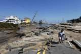 Hurricane Irene travelled along 1,100 miles of US coastline leaving a trail of destruction as reaching far inland