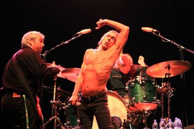 Iggy Pop on Tuborg Main stage at Peninsula Festival 2011 August 27 photo