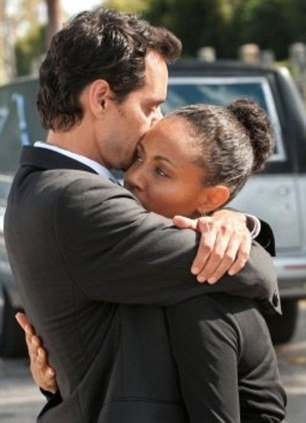 Jada Pinkett Smith and Marc Anthony in Hawthorne TV series