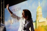 Michele Bachmann received 28 percent of the nearly 17000 votes cast