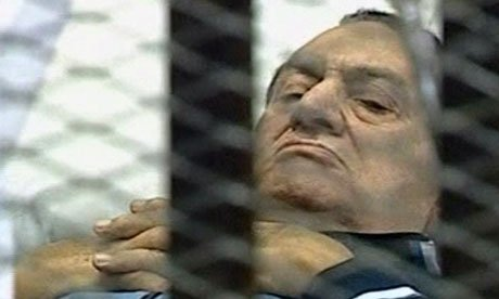 Hosni Mubarak is charged with conspiring in killing of protesters and abusing his power to amass wealth.