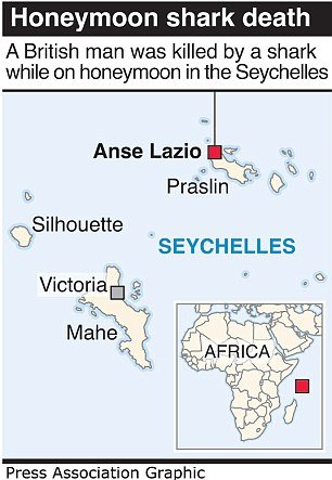 Seychelles, the Praslin Island, where Ian Redmond was attacked by the Bull shark.