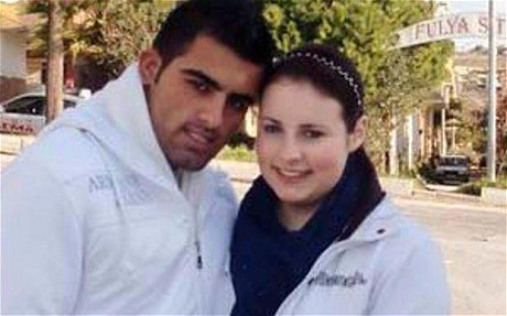 Shannon and Recep Cetin, who killed the two women near Izmir.