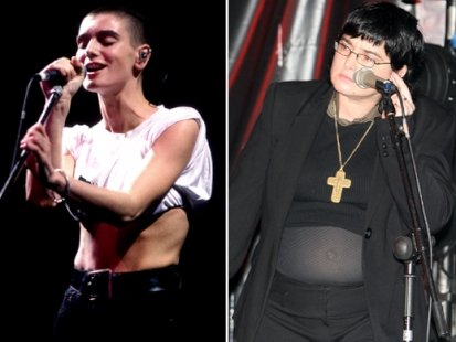 Sinead O'Connor said she will never appear on the Late Late Show again. (Getty/Splash images)