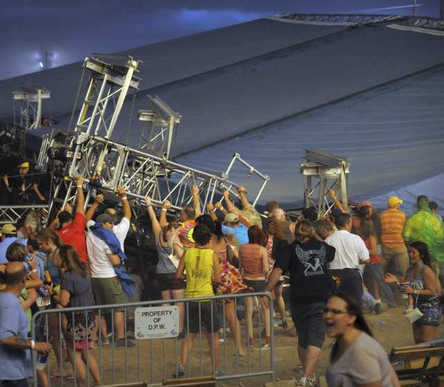 Total deaths of 2011 Indiana State Fair tragedy grew to 5 early this morning.