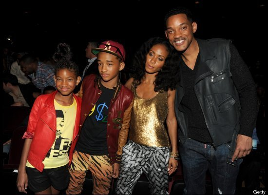Will Smith and Jada Pinkett Smith are married for 13 years and have two children together budding pop stars Jaden and Willow photo