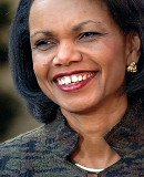 Muammar Gaddafi might be in love with Condoleezza Rice