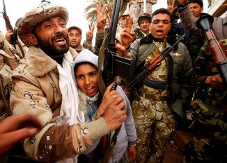 Libya in the hands of the Libyan people. The rebels are taking control of Tripoli.