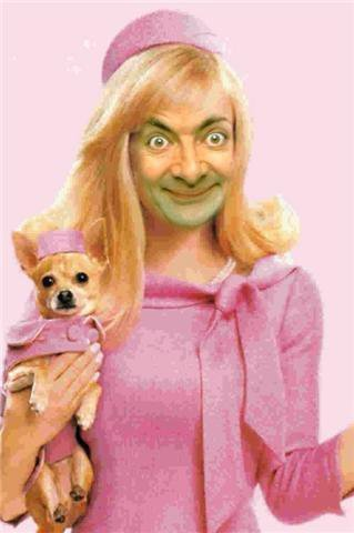 Mr. Bean - Legally Blonde