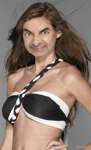 Mr. Bean's daughther