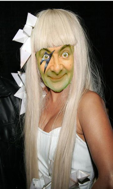 Mr. Bean Lady Gaga