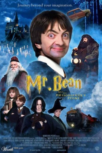 Mr Bean - Harry Potter
