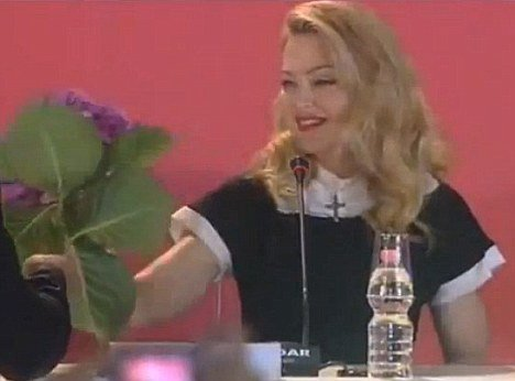 """I absolutely loathe hydrangeas"", said Madonna during WE film press conference at Venice Film Festival"