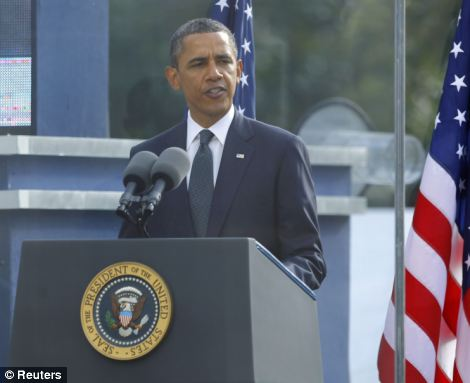 9/11 commemoration ceremony 2011: President Barack Obama read from Psalm 46 - God is our refuge and strength