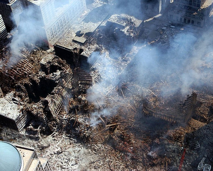 9/11: fires raged for 99 days