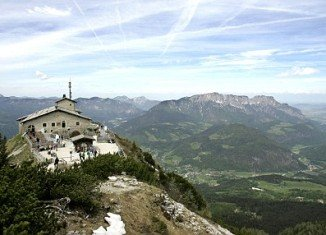Adolf Hitler's tea house, placed on the top of a Bavarian mountain, has become one of the most visited sites in Germany