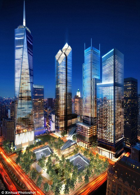 Americans will come together on Sunday where the World Trade Center soared in Manhattan, New Yor