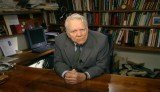 Criticized or praised, Andy Rooney, remains a living legend. The walnut table was made by himself.