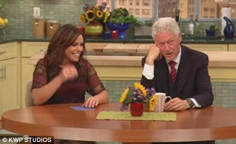 "Bill Clinton revealed on Rachel Ray show he rejected an ""interesting"" offer to appear on Dancing With The Stars"