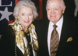 Bob and Dolores Hope in 2003