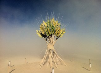 Burning Sheaf as a symbol of Burning Man's Rites of Passage