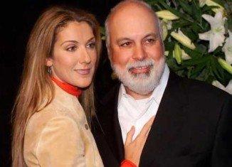 Celine Dion and her husband Rene Angelil