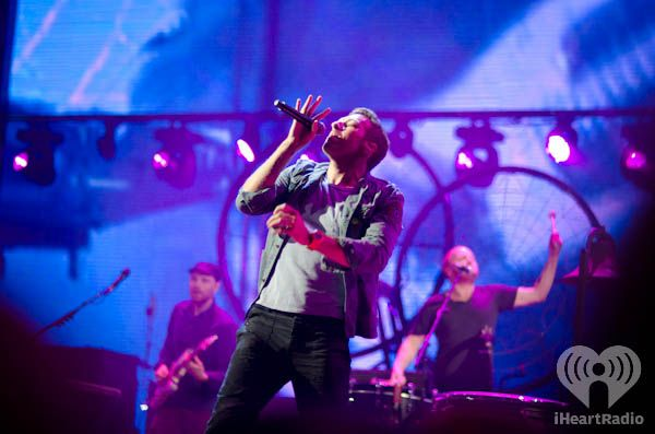Coldplay at iHeartRadio Music Festival