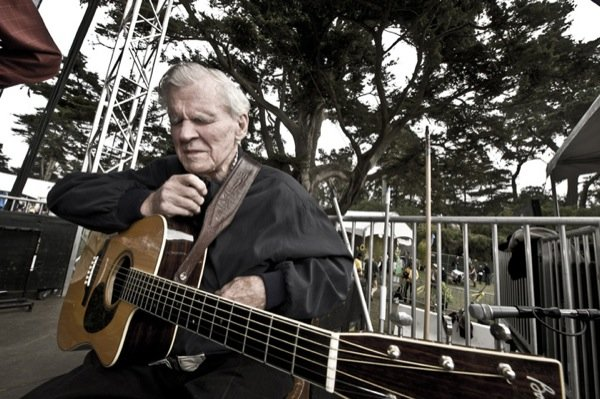 Legendary Doc Watson is missed at Hardly Strictly Bluegrass 2011.