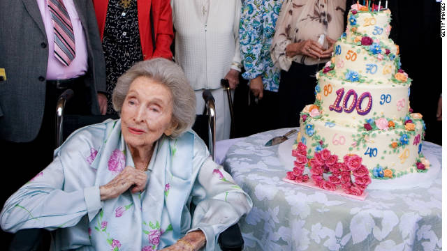 "Dolores Hope centenary: her 'Ten Decades Of Life' party on May 27, 2009, in Toluca Lake. ""I think of her as love.""(Kelly Hope)"