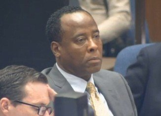 Dr Conrad Murray on the second day of Michael Jackson's death trial in Los Angeles