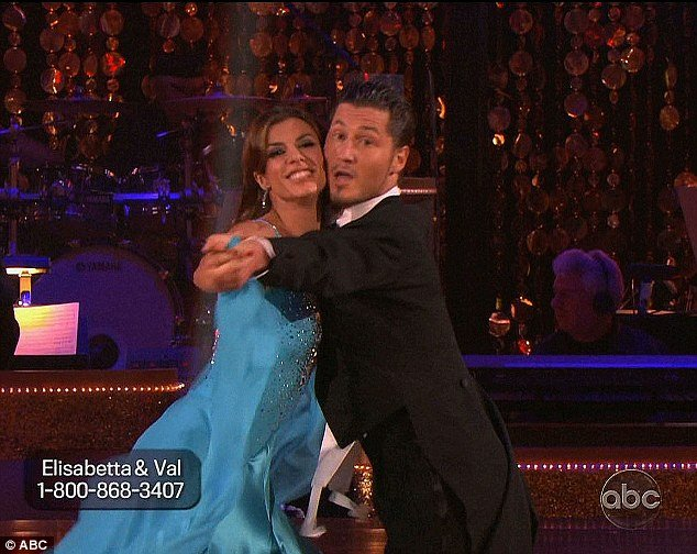 Elisabetta Canalis was eliminated from DWTS after fans failed to call in enough votes