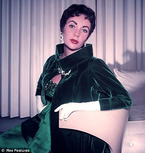 Elizabeth Taylor Collection of gems, gowns and art is unveiled at Christie's in London today