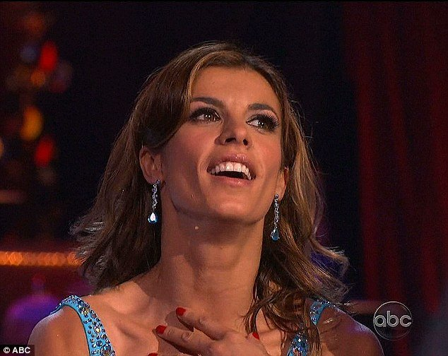 Fans voted Elisabetta Canalis off of Dancing With The Stars show on Tuesday