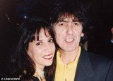 George Harrison and his wife Olivia