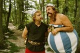 Gerard Depardieu and fellow Asterix and Obelix star, Edouard Baer, who was by French actor's side when he caused a scandal by urinating in front of passengers on a flight from Paris to Dublin, have teamed up for a comic remake