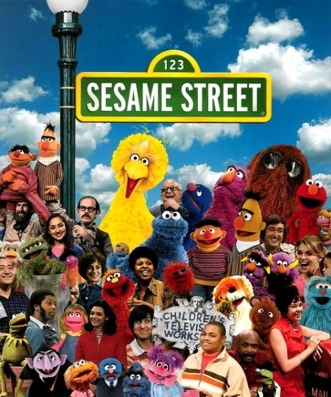 Jim Henson helped with Sesame Street show