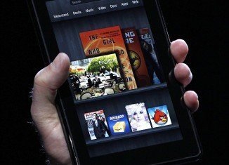 Kindle Fire, the new Amazon device has a 7 inches color screen, and will weigh 14.6oz, can store 100,000 films, 17m songs, and magazines