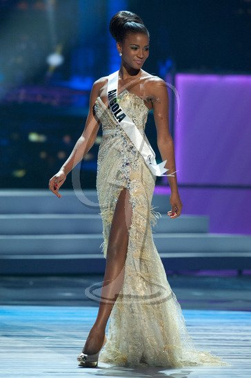 Leila Lopes, Miss Universe 2011, says she focuses on fight against AIDS and poverty