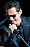 Marc Anthony in tears on stage of Miami