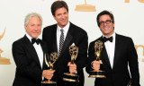 Modern Family won Best Comedy Series Emmy Award 2011, writers Jeffrey Richman and Steven Levitan and director Michael Spiller
