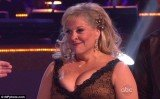Nancy Grace apparently experienced a wardrobe malfunction following her quickstep on last night's DWTS show