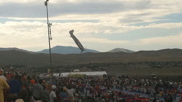 Reno Air Race organizers said a mechanical fault was probably to blame for Galloping Ghost crash