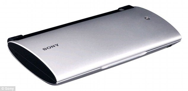 Sony Tablet P, the first folding tablet computer