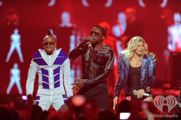 The Black Eyed Peas at iHeartRadio Music Festival